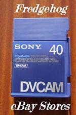 Sony PDVM - 40 Professionnel Mini DV/DVCAM DIGITAL CAMÉSCOPE CASSETTE/CASSETTE