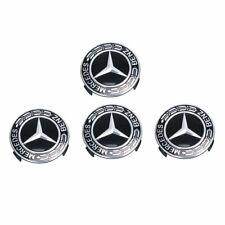 4pcs 75mm Auto Car Wheel Center Hub Caps Cover Badge For Mercedes Benz HW