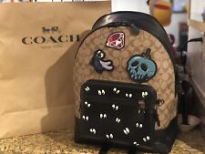 NWT Disney X Coach Large Backpack Snow White & The Seven Dwarfs collection