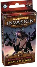 Warhammer Invasion The Card Game Redemption Of A Mage Battle Pack OOP LCG