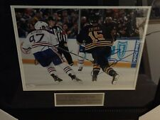 Young Guns  Connor McDavid and Jack Eichel signed 11x14 with JSA Certification