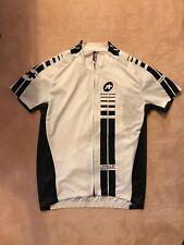 Assos Mille White & Black Cycling Jersey - size XL