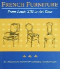 BOOK/LIVRE : FRENCH FURNITURE / MOBILIER FRANCAIS LOUIS XIII to ART DECO