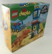 NEW BOXED LEGO DUPLO JURASSIC WORLD PARK DINOSAUR REX TOWER SET 10880 P88