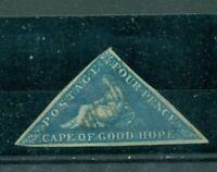 Cape of good Hope,Liegende Britannia Nr. 2 yestempelt
