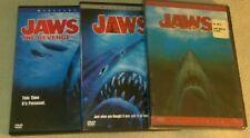 Jaws Movie Series Jaws 1 2 & 3 *Horror *Halloween