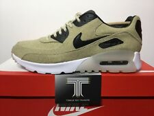 """Nike AIR MAX 90 Ultra Premium """"farina d'avena"""" ~ 859522 100 ~ Regno Unito taglia 6 ~ EURO 40"""