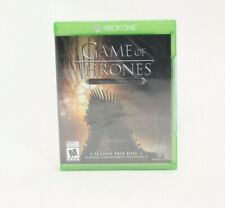 Game of Thrones Season Pass Disc Xbox One Brand NEW Factory Sealed