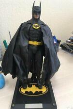 Hot Toys Batman DX09 1/6 Collectible Figure 1989 Version Michael Keaton Used