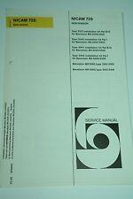 Bang & Olufsen Beovision MX 3000 Nicam 728 Ergänzung zum Service Manual