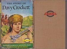 VG HC dj Homeschool Signature Books Davy Crockett Landmark Home School