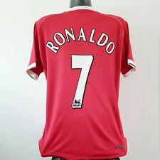 RONALDO 7 Manchester United Shirt - Large - 2006/2007 - AIG Nike Jersey