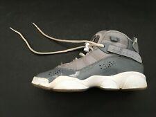Youth Nike Air Jordan 6 Rings Gs Cool Grey White Shoes 323419-015 Sz 4