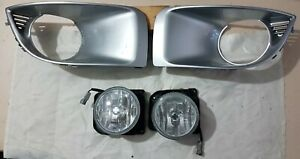 JDM Subaru Impreza WRX 04-05 GD GG Spot Fog Lamps Lights & Housing Surround Vent