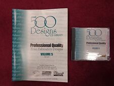 OESD 500 Embroidery Design Collection CD Library Volume 5 PES, SEW, HUS, TAJIMA