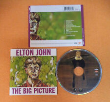 CD ELTON JOHN The Big Picture 1997 Europe MERCURY 536 266-2 no lp mc (CS33)(5*)