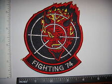 Military Patch US Navy RARE VF-74  Fighting 74 Red Devil's