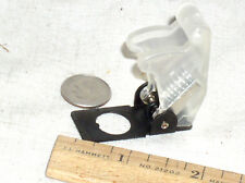 4 New Clear Plastic Toggle Switch Flip Safety Safe Cover Guard Military Usa