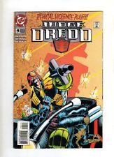 JUDGE DREDD - DC  COMIC  - 1994 NOV   -  # 4  -  VG
