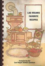 *LAS VEGAS NV 1983 VINTAGE SENIOR CENTERS COOK BOOK *LAS VEGANS FAVORITE RECIPES
