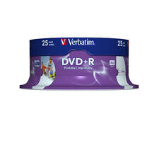 DVD+R 4,7gb 16x imprimible Verbatim 43539 25 Piezas