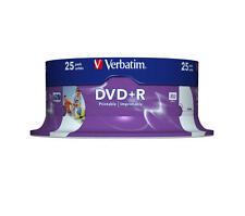 Verbatim 43539/25 - DVD R Vírgenes (25 unidades 4.7 GB 16x) #5396
