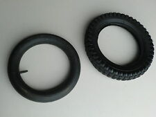 Razor Scooter Electric Dirt Bike Knobby Tire 12 1/2 x 2.75 w/Staight Valve Tube