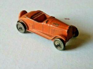 "1940's TootsieToy  chevy roadster  sedan small 2 1/4"" all original"