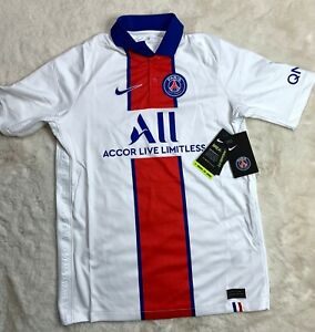XL Nike YOUTH Paris-Saint Germain PSG Away Stadium Jersey CD4507-101 YOUTH XL