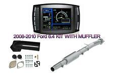 08-10 6.4L Mini Maxx Tuner Ford 6.4 Diesel Egr & Dpf Upgrade Kit Pipe W Muffler