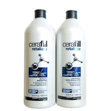 REDKEN CERAFILL THINNING HAIR SOLUTIONS SHAMPOO  AND CONITIONER 1 LITRE
