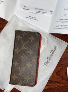 iPhone 8 Plus Louis Vuitton Monogram Folio Phone Case