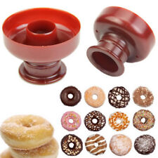 Silicone Moule Chocolate Donut Beignet Gâteau Savon DIY Cuisson Biscuit Cuisine