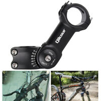 Adjustable Angle Bicycle Handlebar Fork Stem Extender Riser for MTB Road Bike