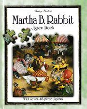 Martha B. Rabbit - Jigsaw Book By Shirley Barber (Hardback, 2001)