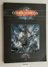 Rackham Confrontation Third Edition Softcover Rulebook Good Condition 2005