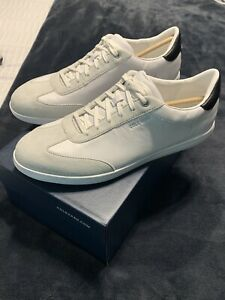 Cole Haan Grandcourt Turf Sneakers White 10.5 NEW