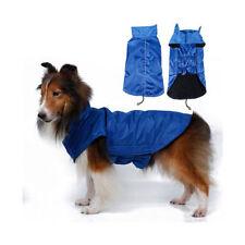 Vêtements et chaussures bleues en polyester pour chien