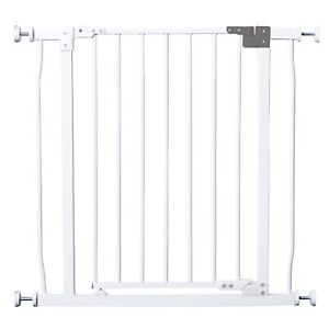 Dreambaby Liberty Metal Pressure Fit Safety Gate White 75-81cm / 29.5-32 Inch