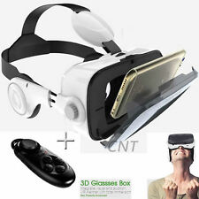 VR Virtual Reality 3D Glasses Headset Movies For iPhone SE 6s/Plus 5 4+ Control