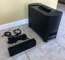 Bose Cinemate 15 Digital Home Theater System Surround Subwoofer Soundbar Clean