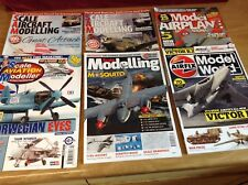 Six Scale Military Aircraft Modelling Magazines
