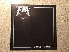 """FM """"Frozen heart"""". 7"""" vinyl single."""