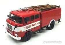 TLF 16 IFA Type W50 Camión 1:43 Bomberos IXO Salvat Diecast