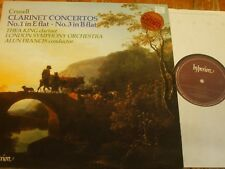 A66055 Crusell Clarinet Concertos Nos. 1 & 3 / King / Francis / LSO