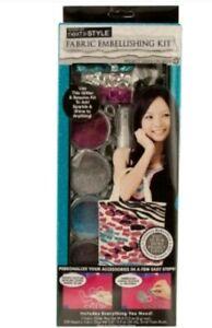Fashion Art Fabric Embellishing Kit, crafts, glitter, sequins, sparkle, new