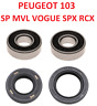 PEUGEOT 103 SP VOGUE MVL - ROULEMENT 6203 6204 JOINT SPI EMBIELLAGE VILEBREQUIN
