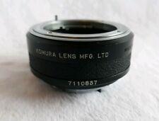 Komura Telemore 95 II  7- K- M - C Lens For SR Minolta MC Mount EUC
