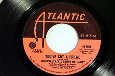 Roberta Flack & Donny Hathaway: You've Got a Friend / Gone Away [Unplayed Copy]