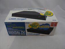 Apex Digital TV Converter Box w/ Remote Control NEW Analog Pass-through DT502